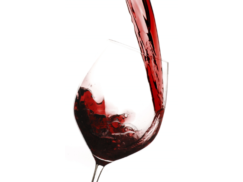 Thème vin - Verre de vin zoom