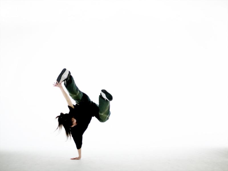 Thème danse - Hip hop fond blanc