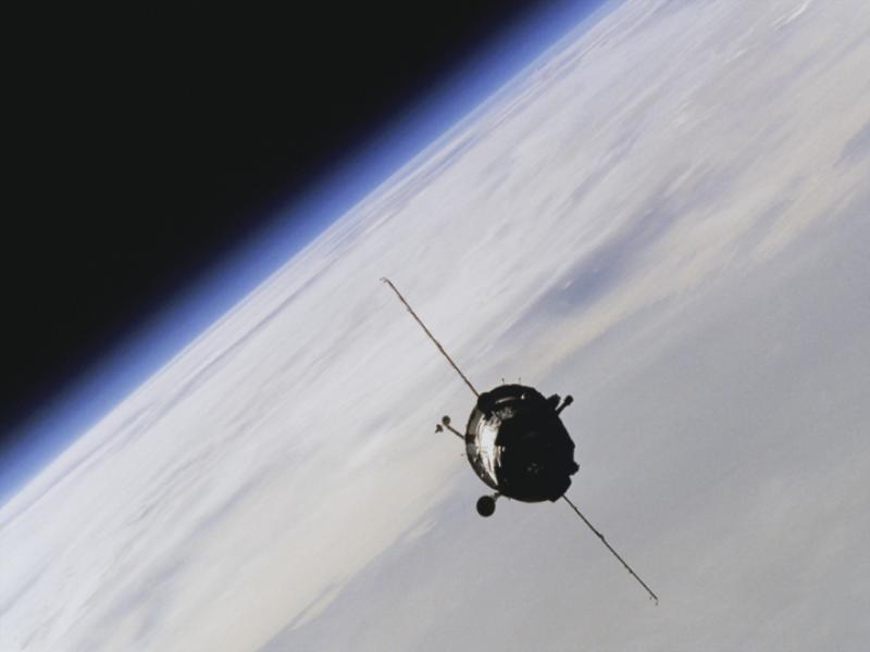 Thème espace - En orbite