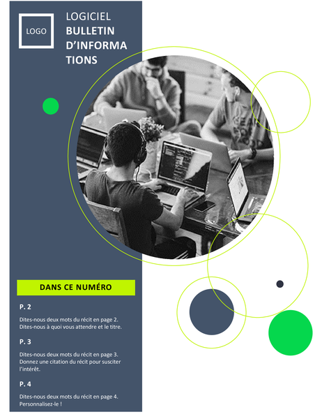 Bulletin d'informations technologie logicielle