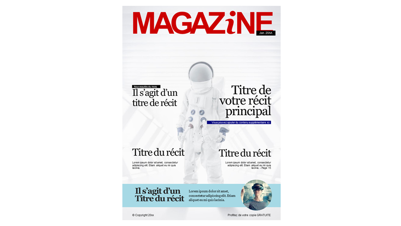 Couvertures de magazines