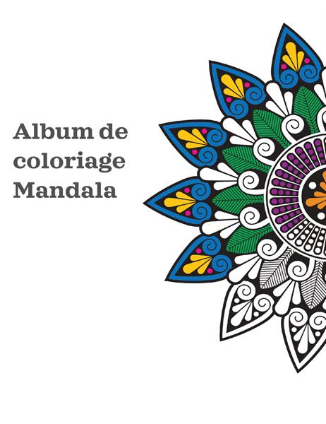 Album de coloriage Mandala