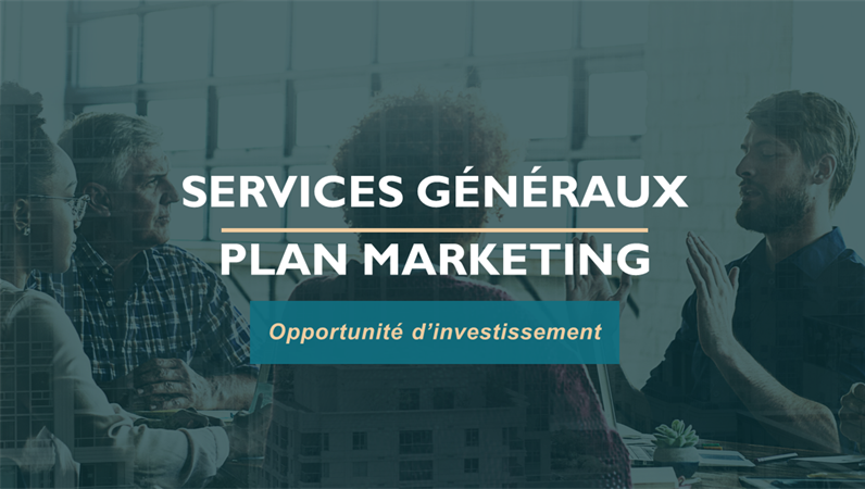 Plan marketing des services professionnels