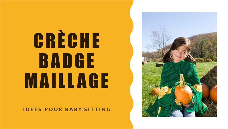 Conception Badge garde d'enfant
