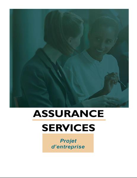 Projet d'entreprise de services professionnels