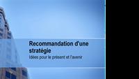 Présentation pour des recommandations stratégiques