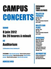 Prospectus pour étudiants (modèle gras noir et bleu)