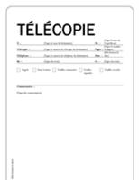 Page de garde de télécopie (Équité)