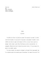 Manuscrit d'une histoire