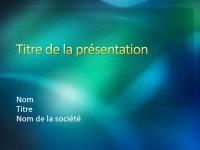 Exemples de diapositives de présentation (conception Texturé vert)