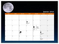 Calendrier lunaire 2010 (Temps universel)