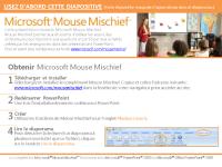 Couleurs Mouse Mischief (Anglais deuxième langue)