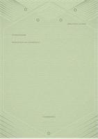 Modèle de lettre personnelle (conception élégante en gris-vert)
