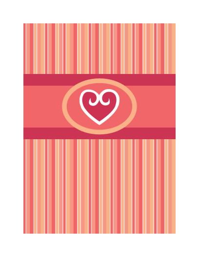 כרטיס אהבה (עיצוב אדום)