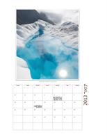 לוח שנה חודשי עם תמונות (ראשון-שבת)