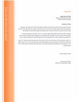 מכתב (עיצוב חלון)