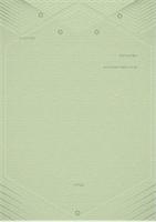 תבנית עבור מכתבים אישיים (עיצוב אלגנטי בצבע אפור-ירוק)