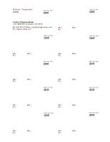 व्यावसायिक कार्ड, लोगो वाला क्षैतिज लेआउट, दाएँ-संरेखित पाठ
