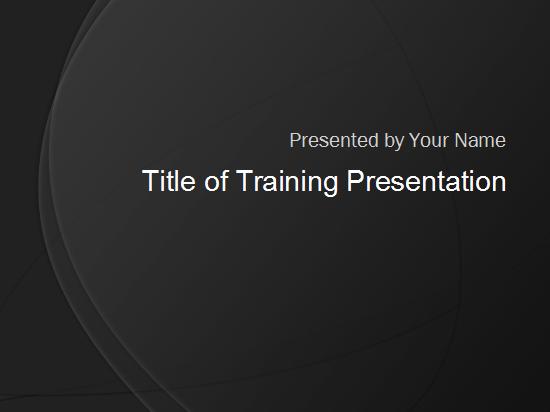 प्रशिक्षण प्रस्तुति: सामान्य