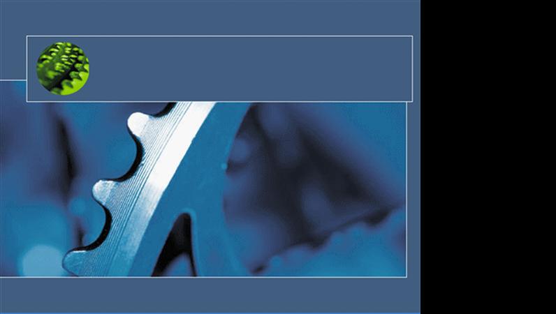 Predložak dizajna Plavi zamašnjak