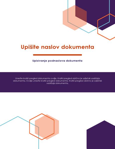 Izvješće (dizajn Executive)