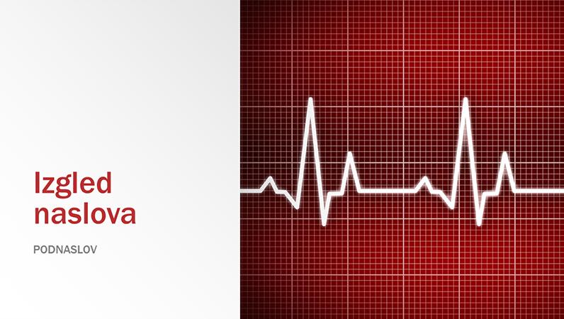Prezentacija s medicinskim motivom (široki zaslon)