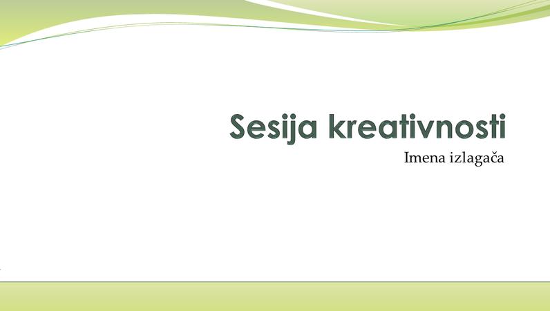 Prezentacija o razmjeni poslovnih ideja