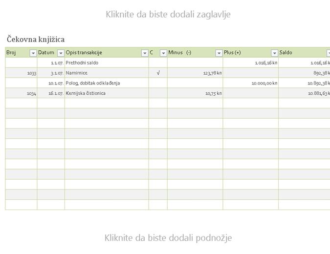 Provjerite registraciju
