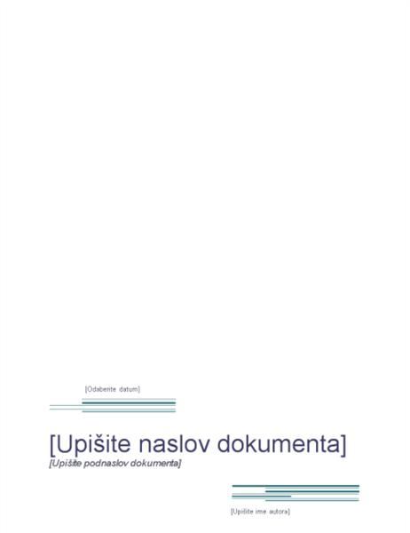 Izvješće (urbani dizajn)
