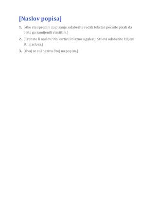 Osnovni popis