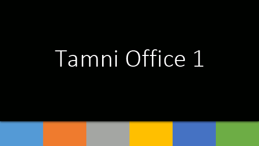 Tamni Office 1