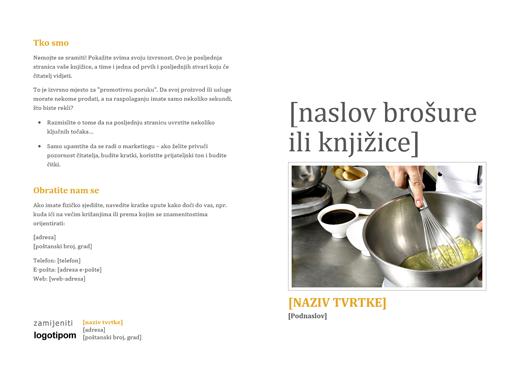 Brošura za proizvode i usluge