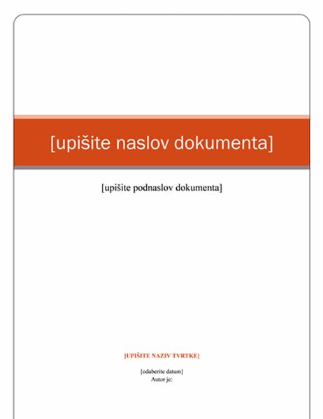 Izvješće (tema Kapital)