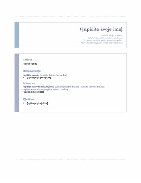 Izvje e ishodi ni dizajn office templates for Bureau word origin