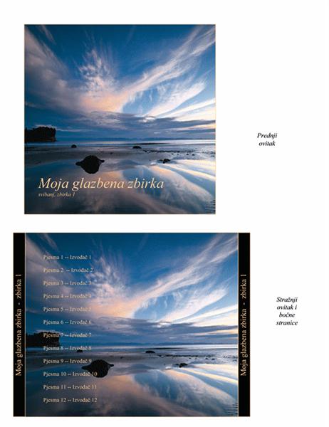 Glazbena zbirka - ovitak za CD