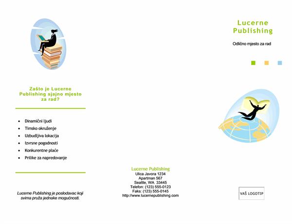 Brošura za zapošljavanje