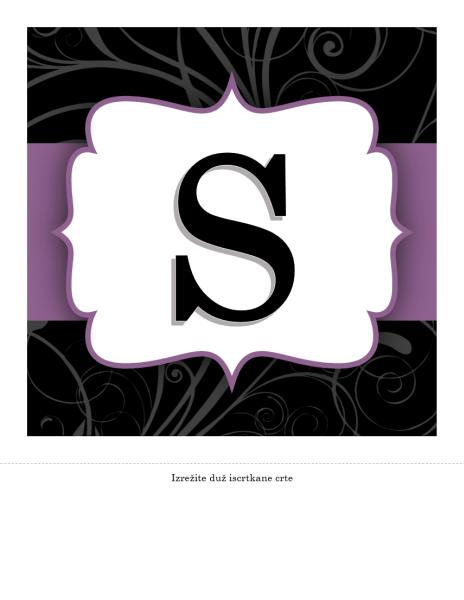 Natpis za godišnjicu – elegantni dizajn