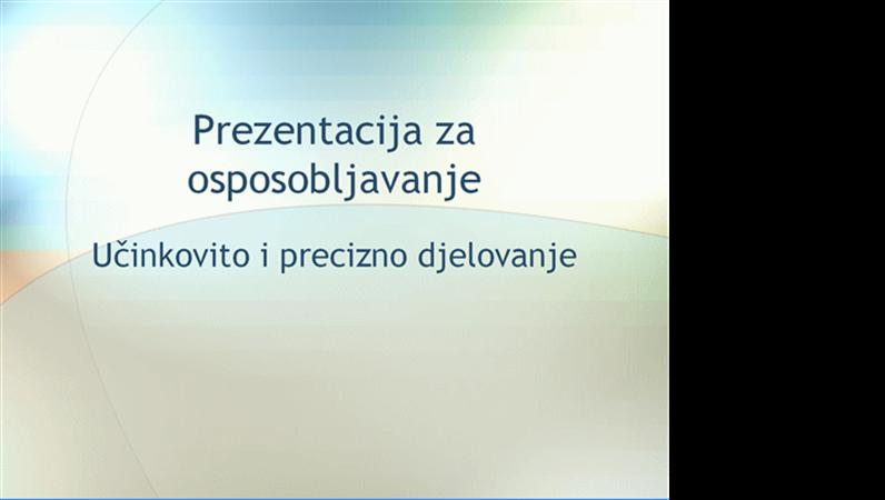 Prezentacija Seminar za osposobljavanje