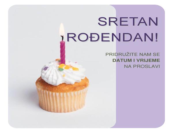 Pozivnica za rođendan (s torticom)