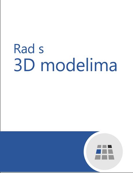 Rad s 3D modelima u programu Word
