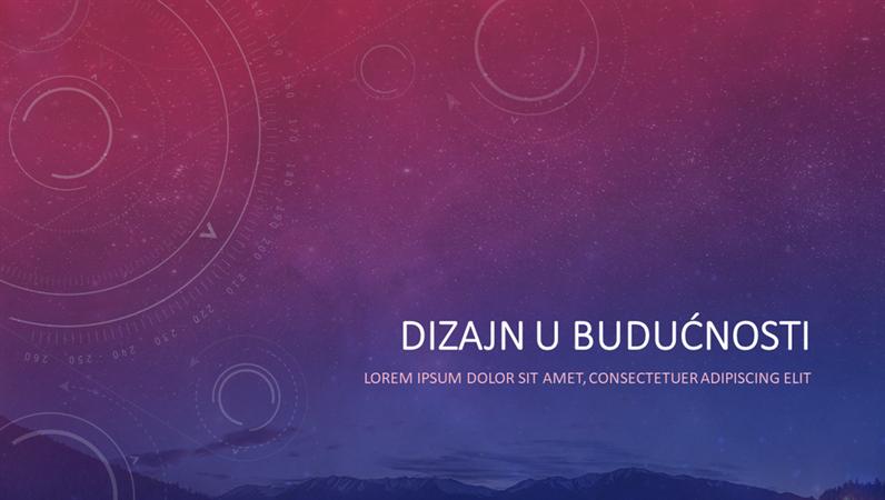 Dizajn budućnosti i svemira