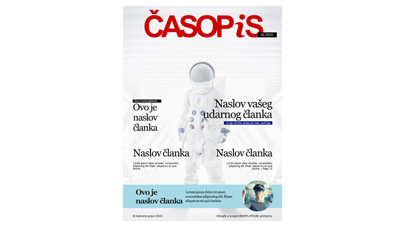 Naslovnice časopisa