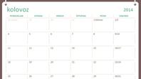 Akademski kalendar 2014. do 2015. (kolovoz do srpanj)