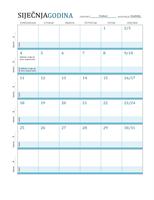 Kalendar nastavnog plana