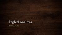 Prezentacija s motivom prirodnog drveta (široki zaslon)