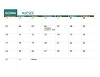 Akademski kalendar (za sve godine)