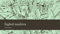 Prezentacija s crtežom grada (široki zaslon)