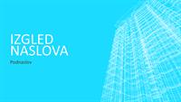 Prezentacija sa žičanim modelom zgrade (široki zaslon)