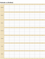 Automatski kalendar (vodoravan)