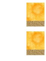 Zahvalnica (s motivom sunca i pijeska)